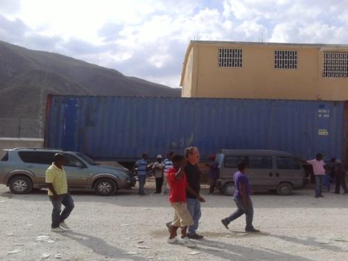 Haiti/Dominican Republic border crossing