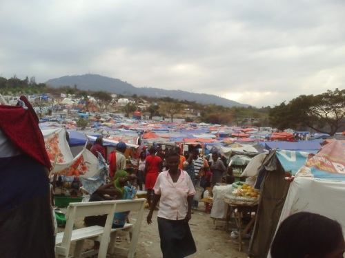 Pétionville Tent City - 60,000 residents