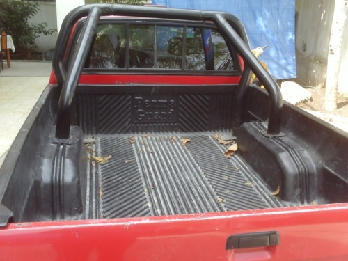 Durable Bed liner and roll cage