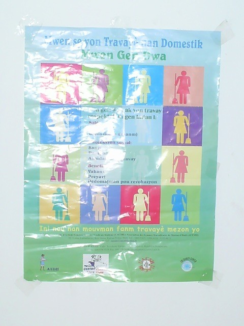 Domestic worker rights poster