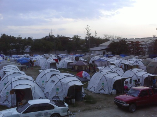 Delmas Tent City