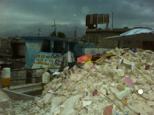Destruction in Delmas