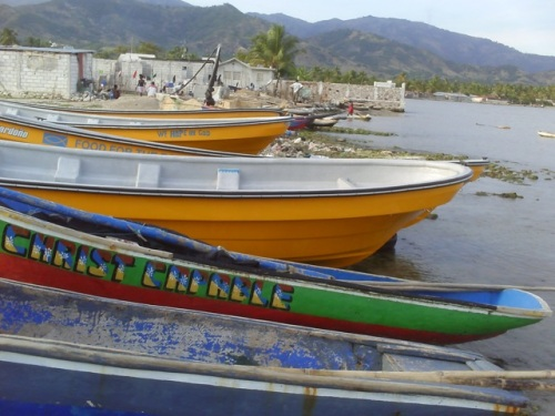 Fishing Boats in Aquin