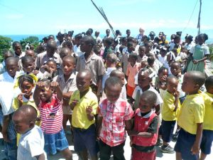170 impoverished students from Grand Ravine in Port-Au-Prince finished year 1 in June 2011.